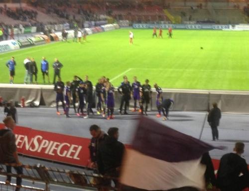 Spieltag 18: FC Erzgebirge Aue vs. Würzburger Kickers