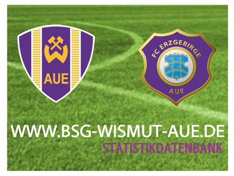 BSG Wistmut Aue Statistikdatenbank