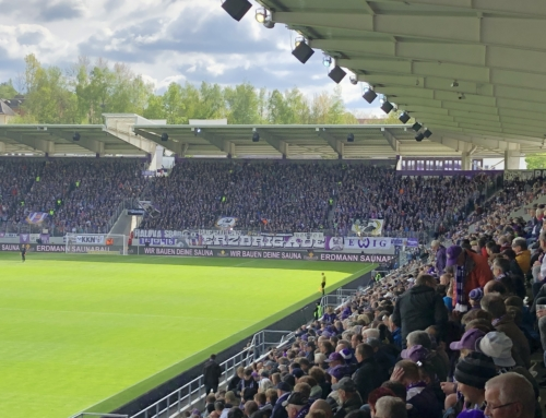 Spieltag 30: FC Erzgebirge Aue vs. Karlsruher SC