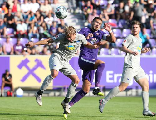 Veilchen testen und gewinnen gegen Hertha BSC