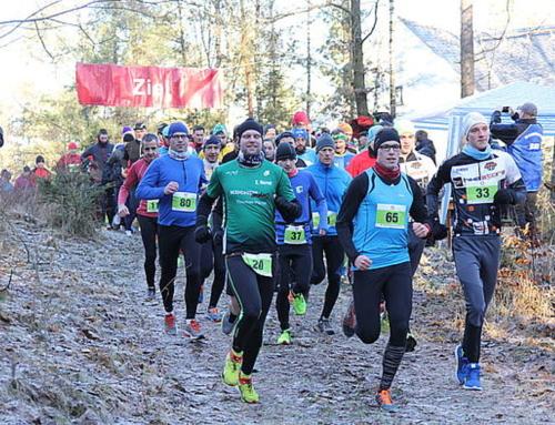 41. Silvesterlauf der Abteilung Ski rund um den Filzteich