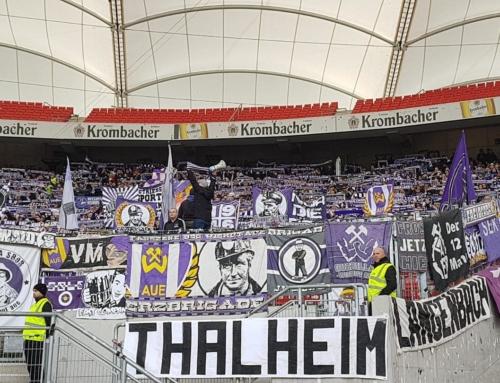 Spieltag 21: VfB Stuttgart vs. FC Erzgebirge Aue